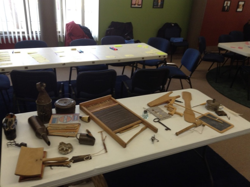 Historical museum story inspiration pieces.