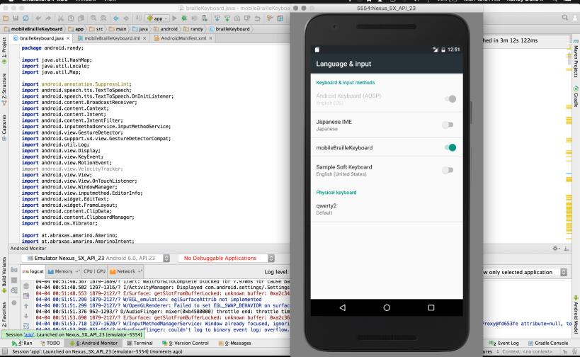 Using Android Studio Randolph Duke II